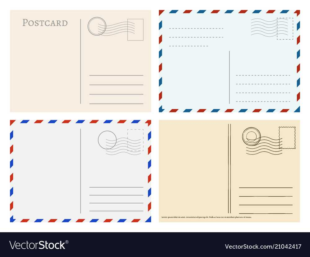 Travel Postcard Templates Greetings Post Cards For Post Cards Template