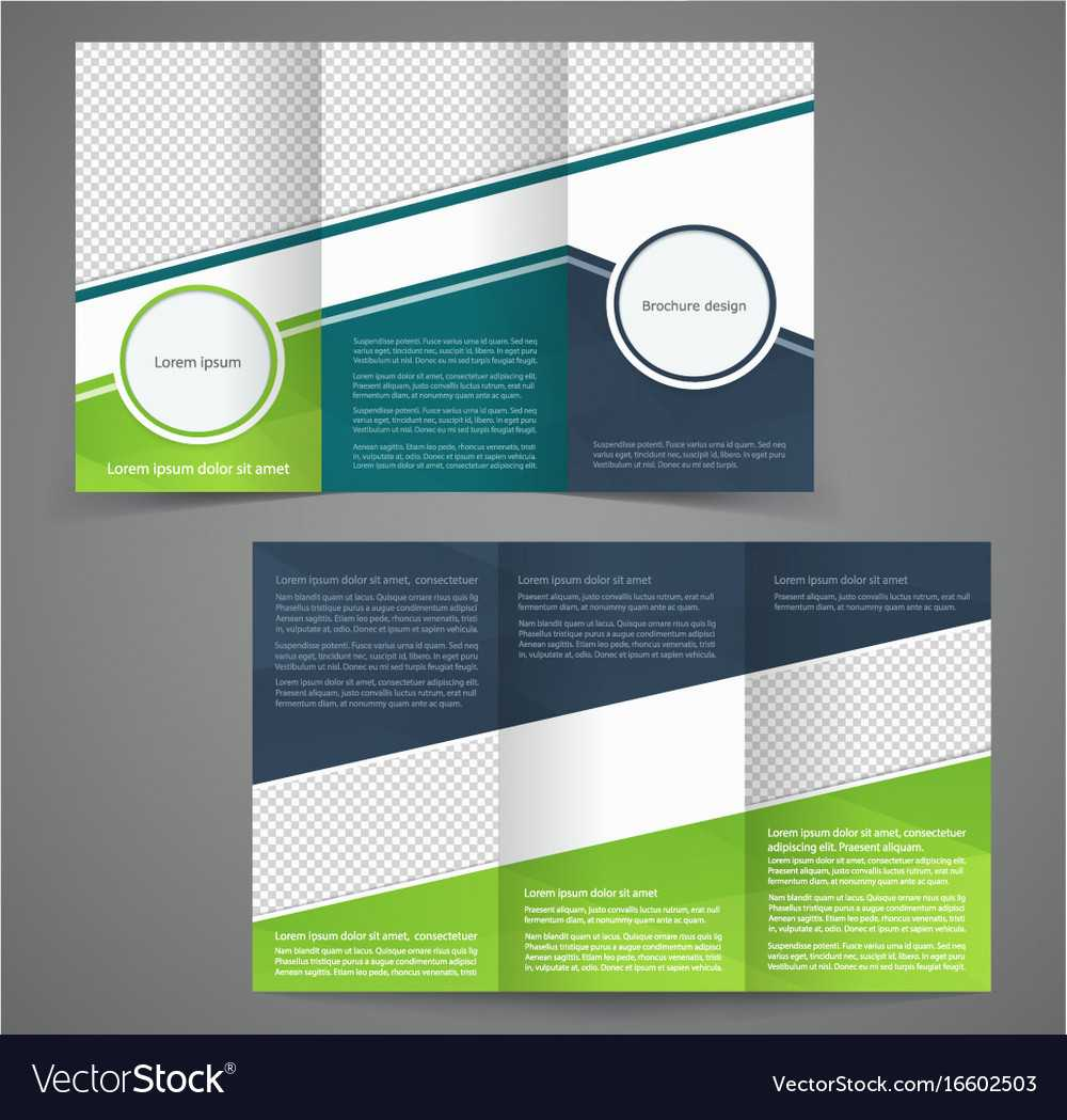 Tri Fold Business Brochure Template Two Sided With Regard To One Sided Brochure Template