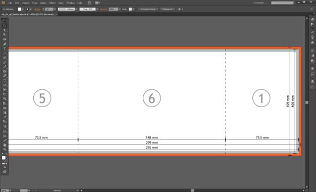 Tutorial: Sweet Gate Fold Brochure Template » Saxoprint Blog Uk pertaining to Gate Fold Brochure Template Indesign