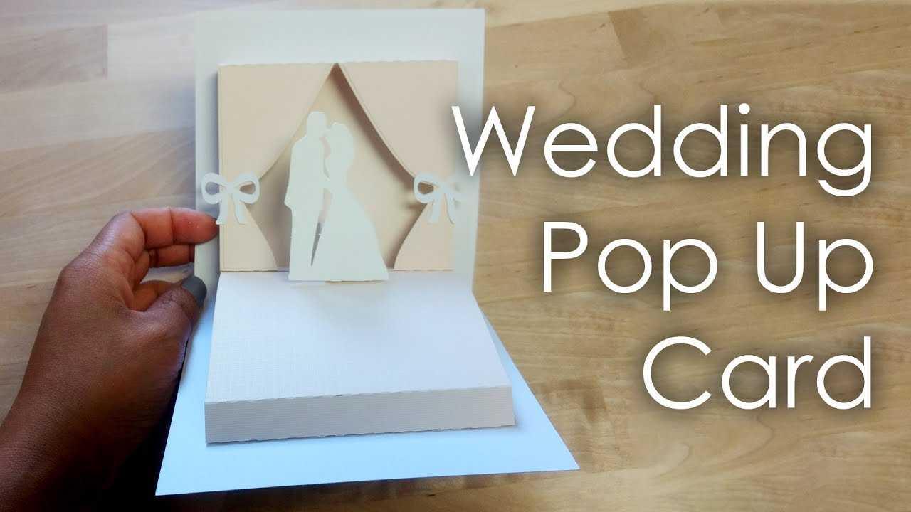 [Tutorial + Template] Diy Wedding Project Pop Up Card Pertaining To Pop Up Wedding Card Template Free