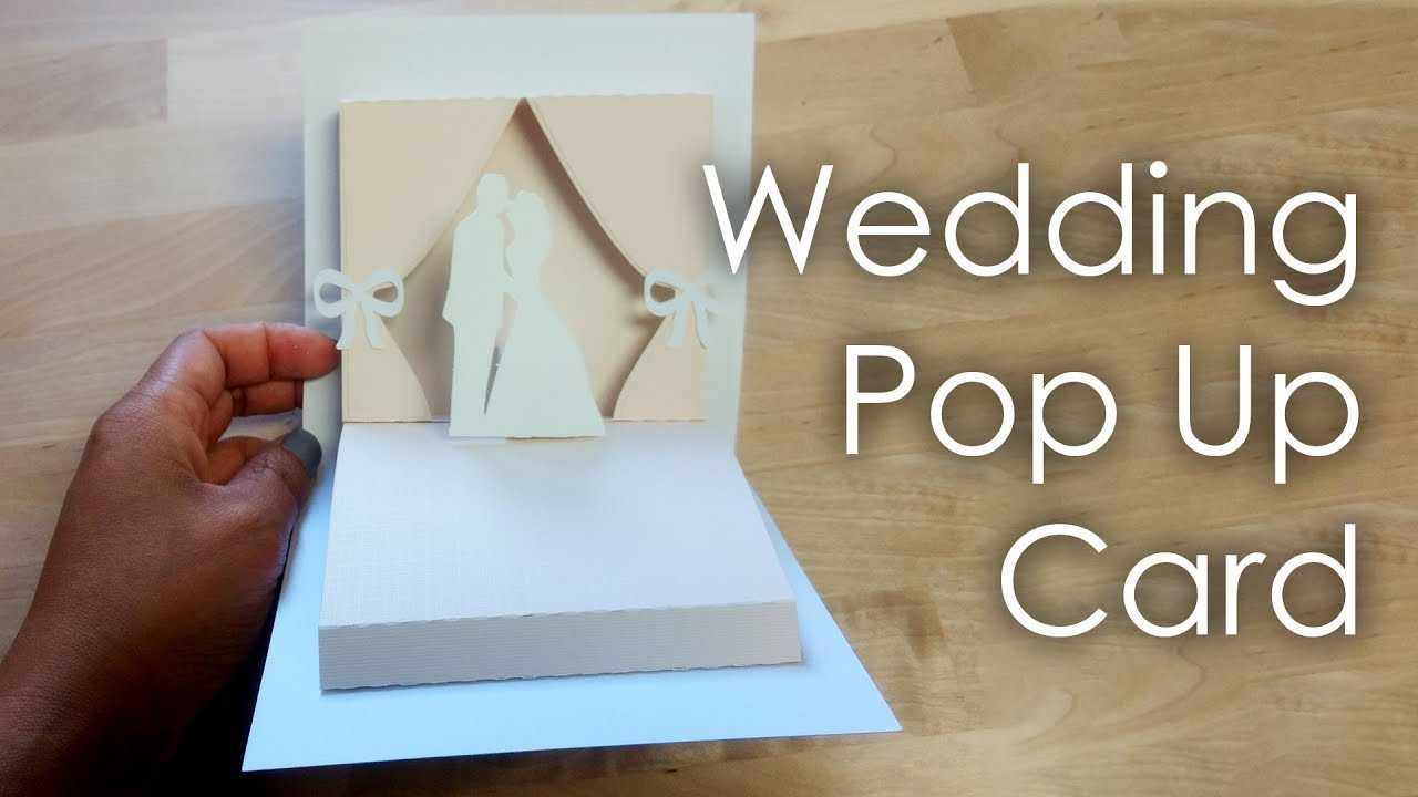 [Tutorial + Template] Diy Wedding Project Pop Up Card With Regard To Wedding Pop Up Card Template Free