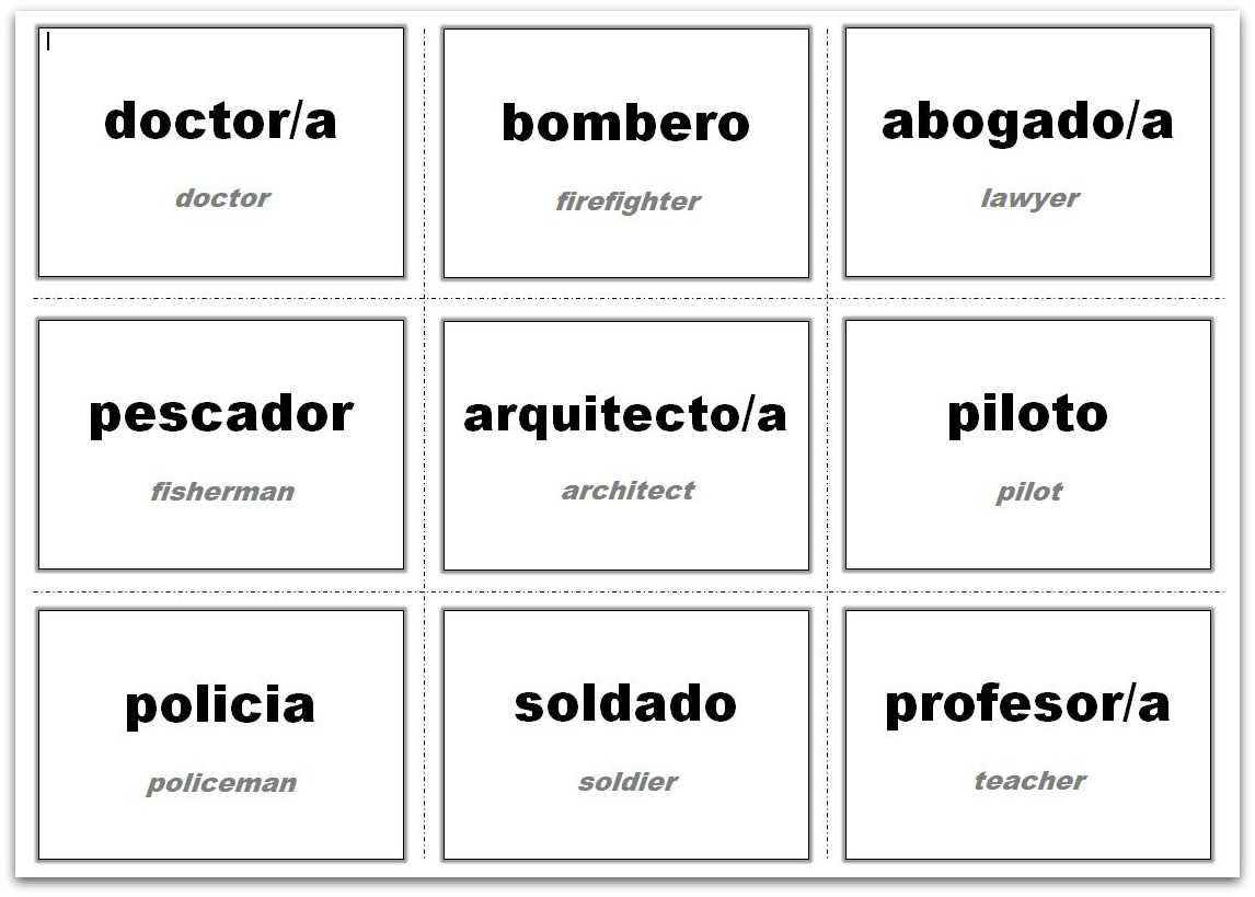 Vocabulary Flash Cards Using Ms Word Within Word Cue Card Template